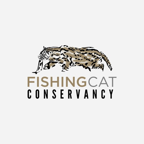 abstrack fishing cat
