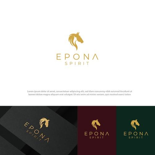 Logo concept for Epona Spirit