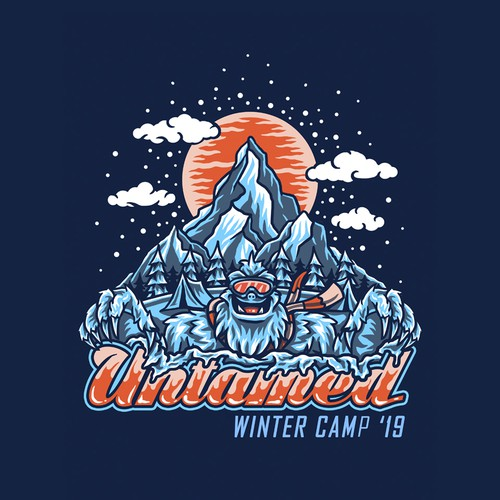 Teen Winter Camp Tshirt