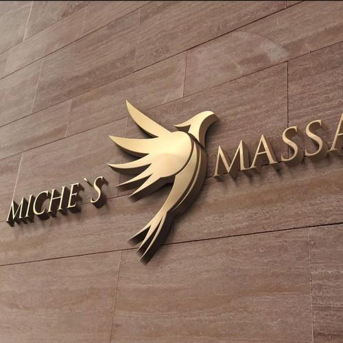 MICHE'S MASSAGE Logo