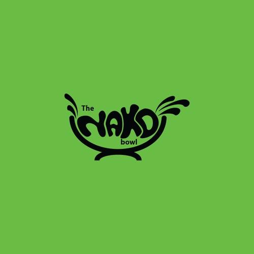 the NAKD bowl logo concept