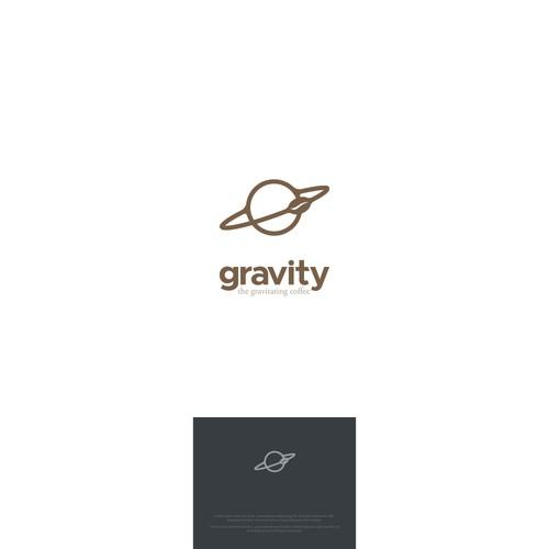 Logo for a coffee bar