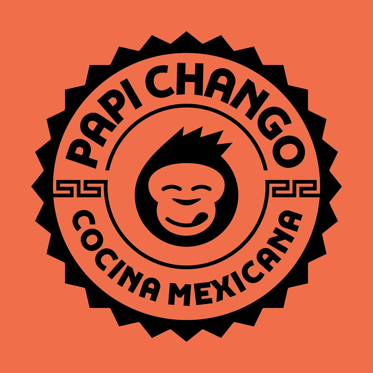 Papi Chango - Cocina Mexicana | Logo Design