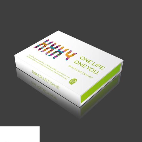 Packaging for DNA kit