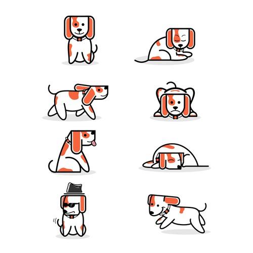 Lovable Dog Mascot Needed for Delightful App.