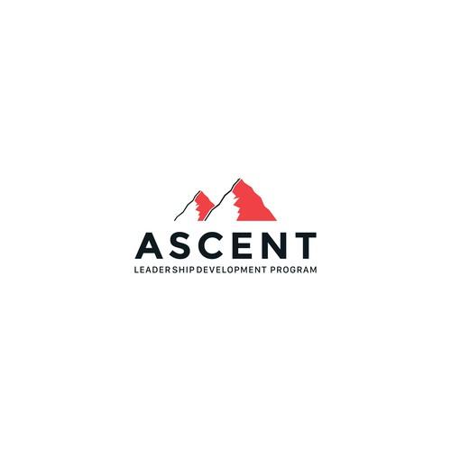 Startup logo concept for ASCENT