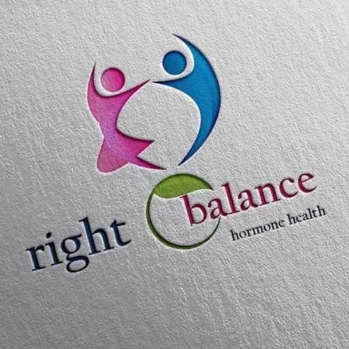 Brand logo concept for Right Balance