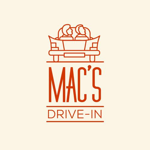 Vintage Drive-In Restaurant Logo ReDesign