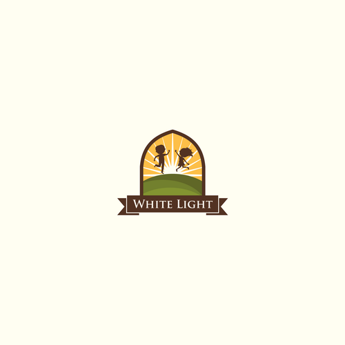 White Light logo and web
