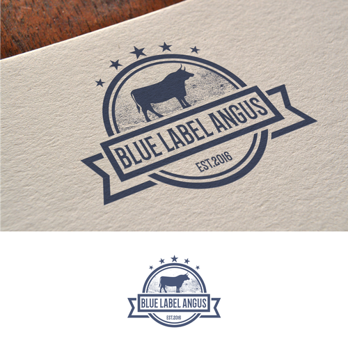 Vintage ranch logo to create a sustainable brand