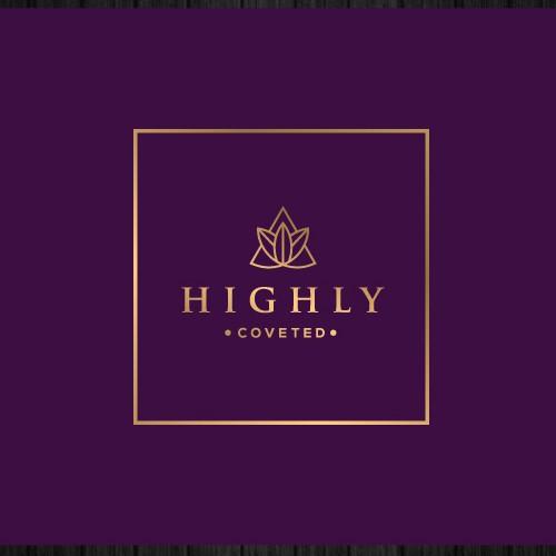luxury logo for cannabis edibles