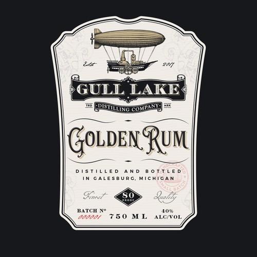 Gull lake golden rum
