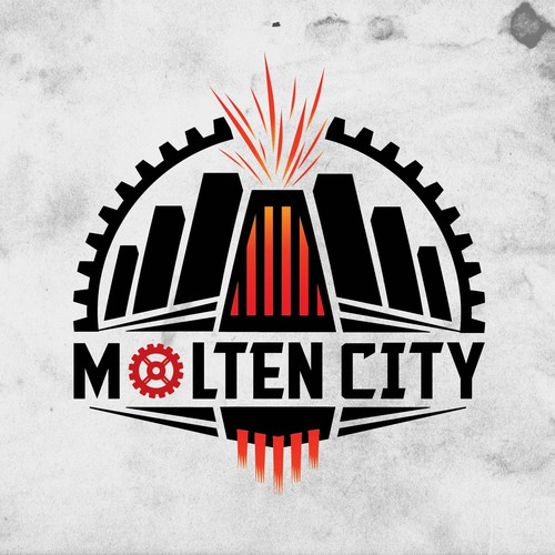Looking for a dark, exciting logo for MoltenCity.com