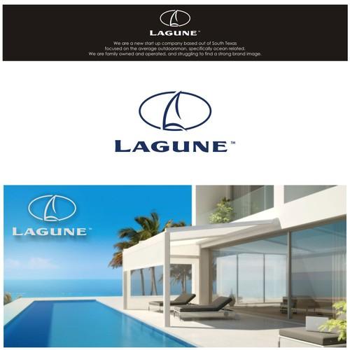 logo concept lagune