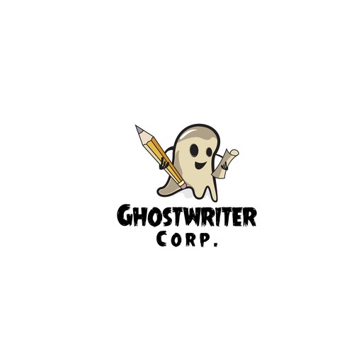 "Logo Design For ""GHOSTWRITER Corp."""