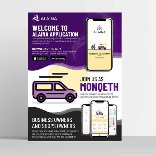 Alaina App Flyer