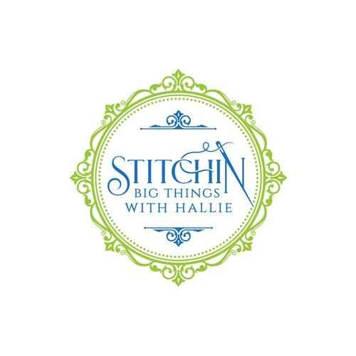 Stitchin big things with Hallie