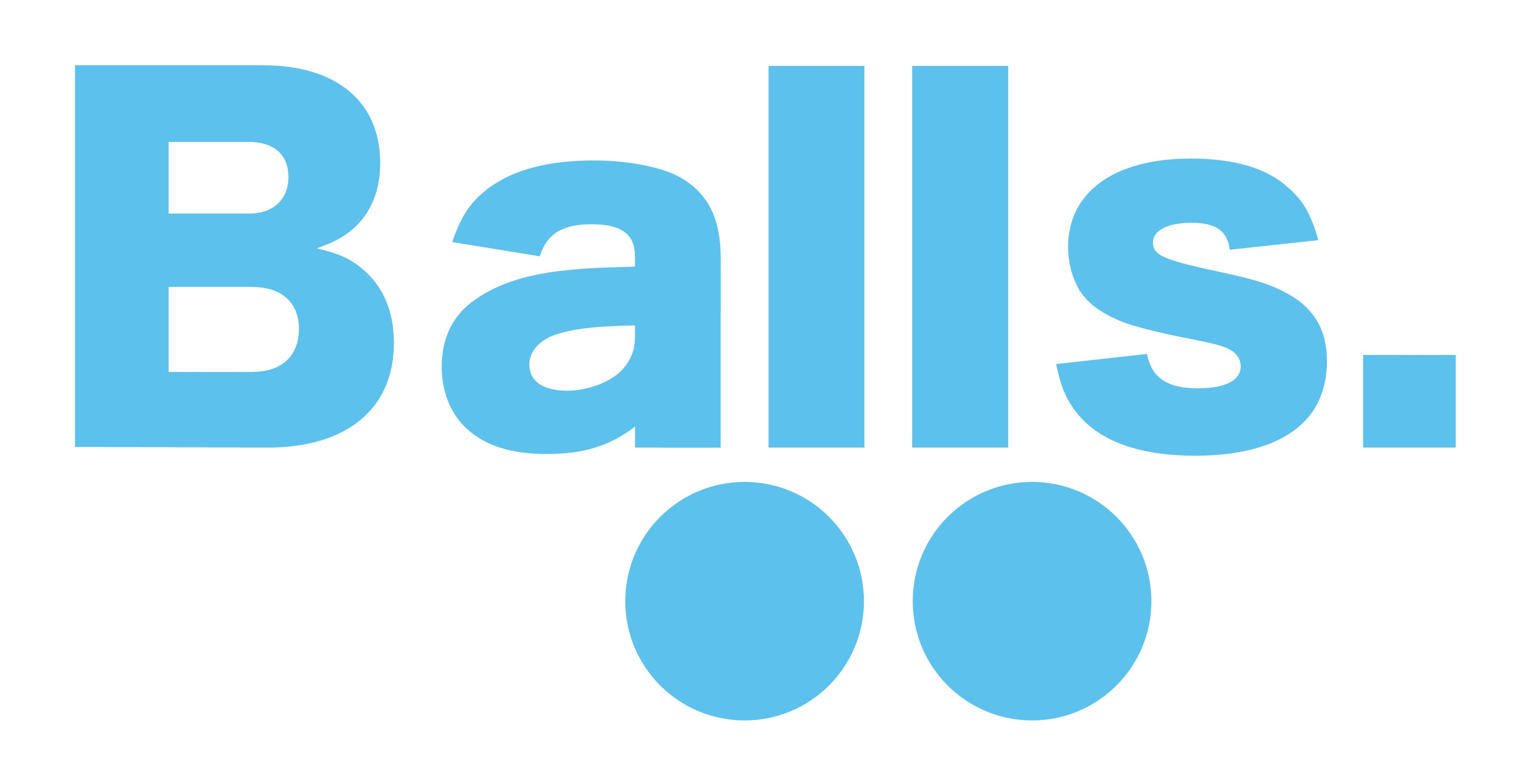balls. is an high-quality LGBT advertising agency. Have balls to create this design !