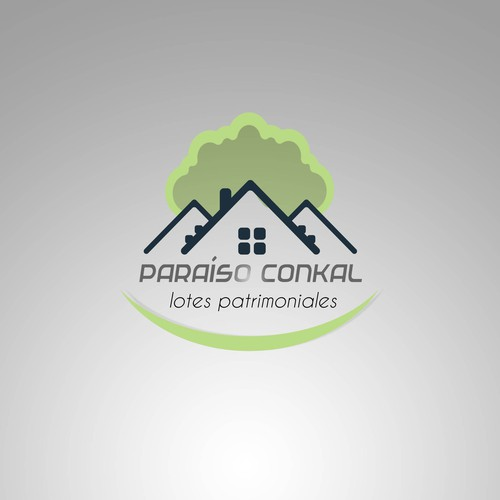 Bold logo for real estate agency