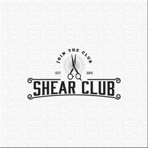 Vintage logo for Shear Club