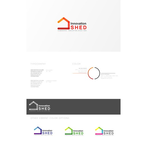 """Logo for a corporate hackspace called """"The Shed"""""""