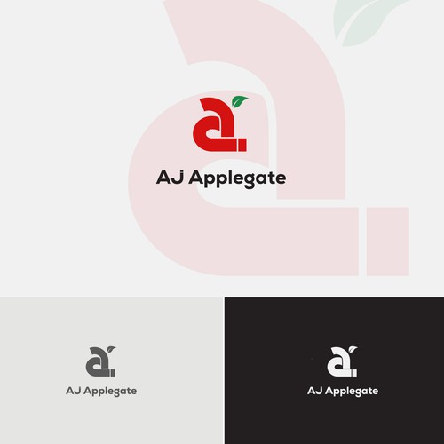 logo concept for AJ Applegate