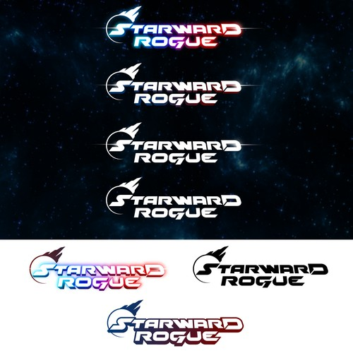 Logo for Sci-fi video game