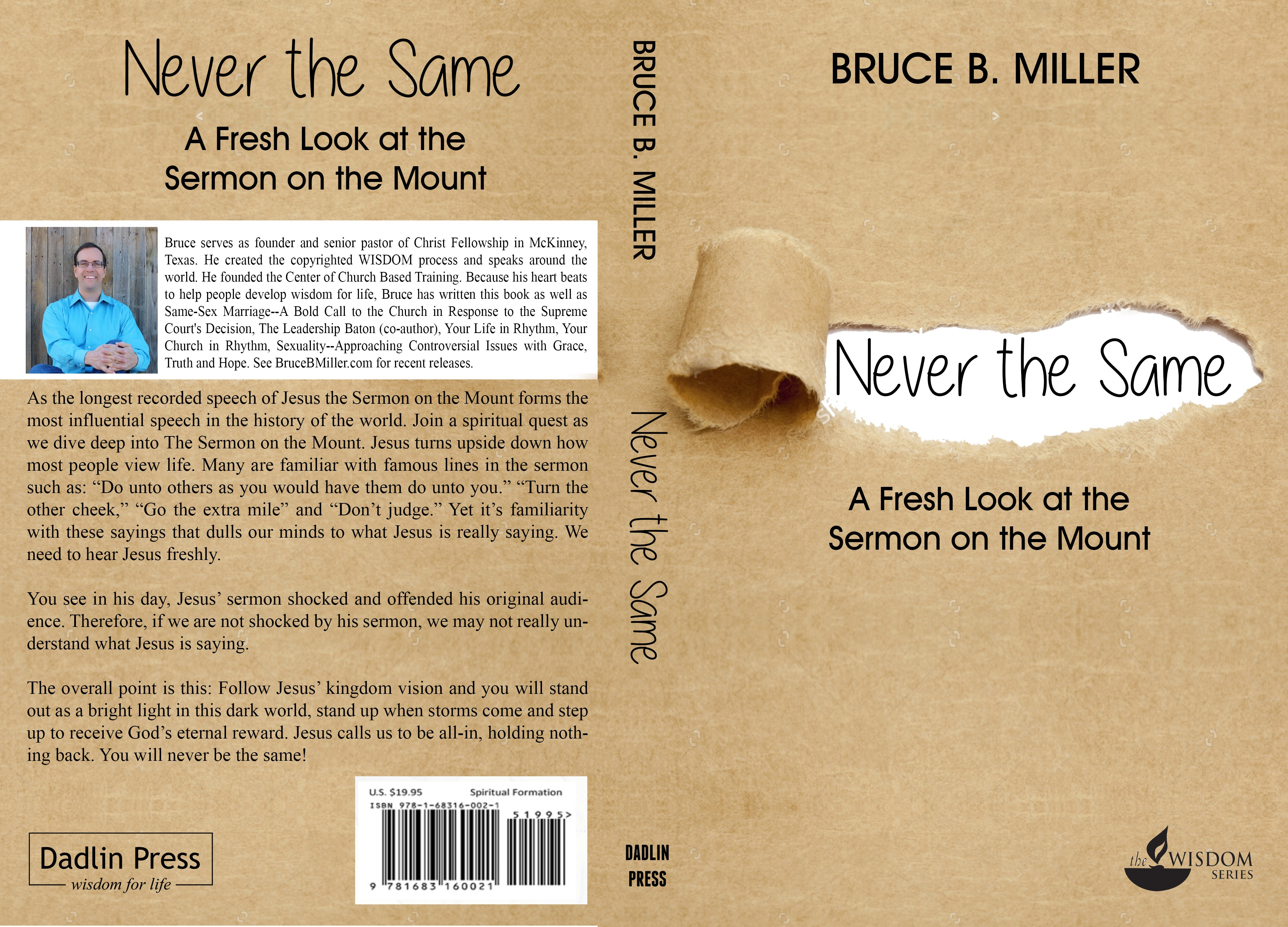 Christian publishing company needs creative and stand-out book cover, back and spine
