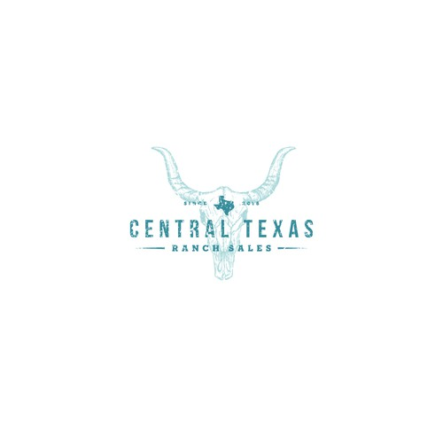 Logo for a ranch company in Texas