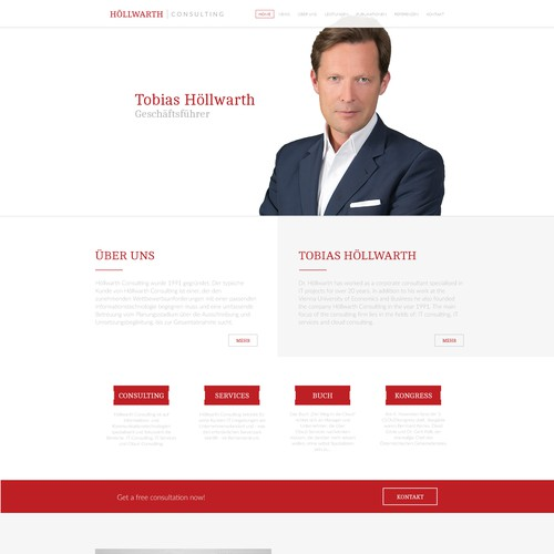 Webdesign for http://hoellwarth.at, IT & Cloud consulting business.