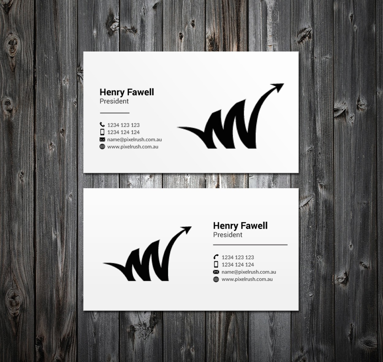 Business Card for Leading Digital Marketing Agency