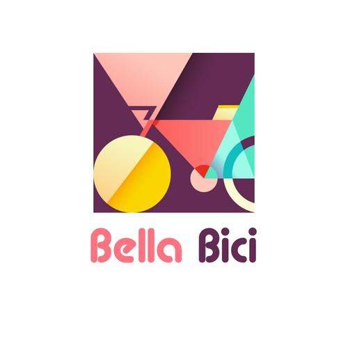 Logo for bike rental shop