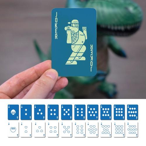 Revolutionary Poker Card Design For Mindrax
