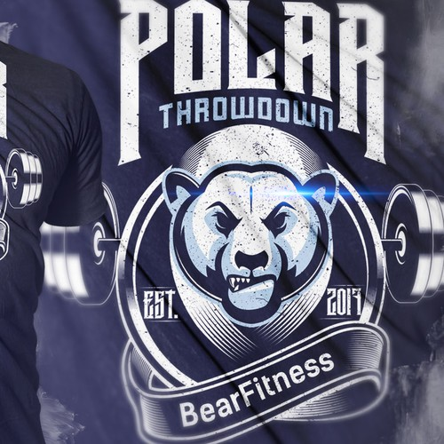 POLAR THROWDOWN SHIRT DESIGN