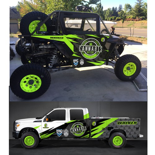 RZR Offroad race Livery Design