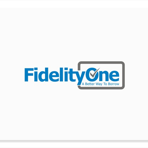New Logo wanted for Fidelity One Credit Corp.