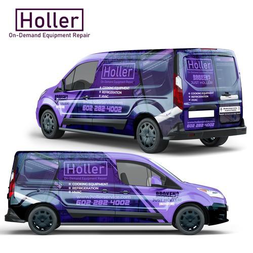 Holler Full Wraps Design