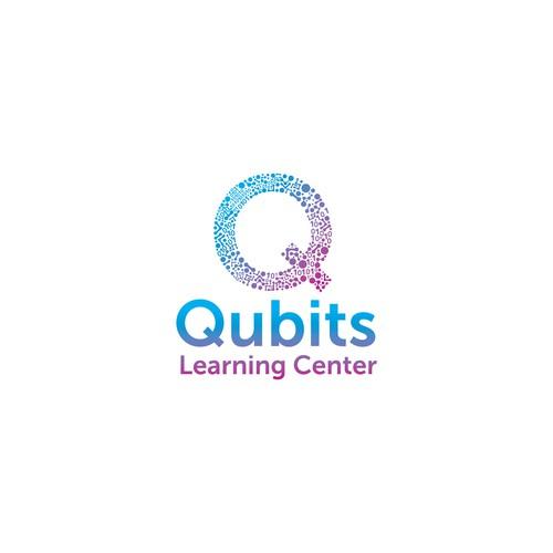 Qubits Logo Designs