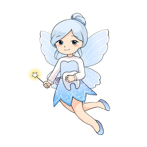 Tooth fairy character design