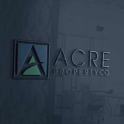 Acre Logo and Business Card Design