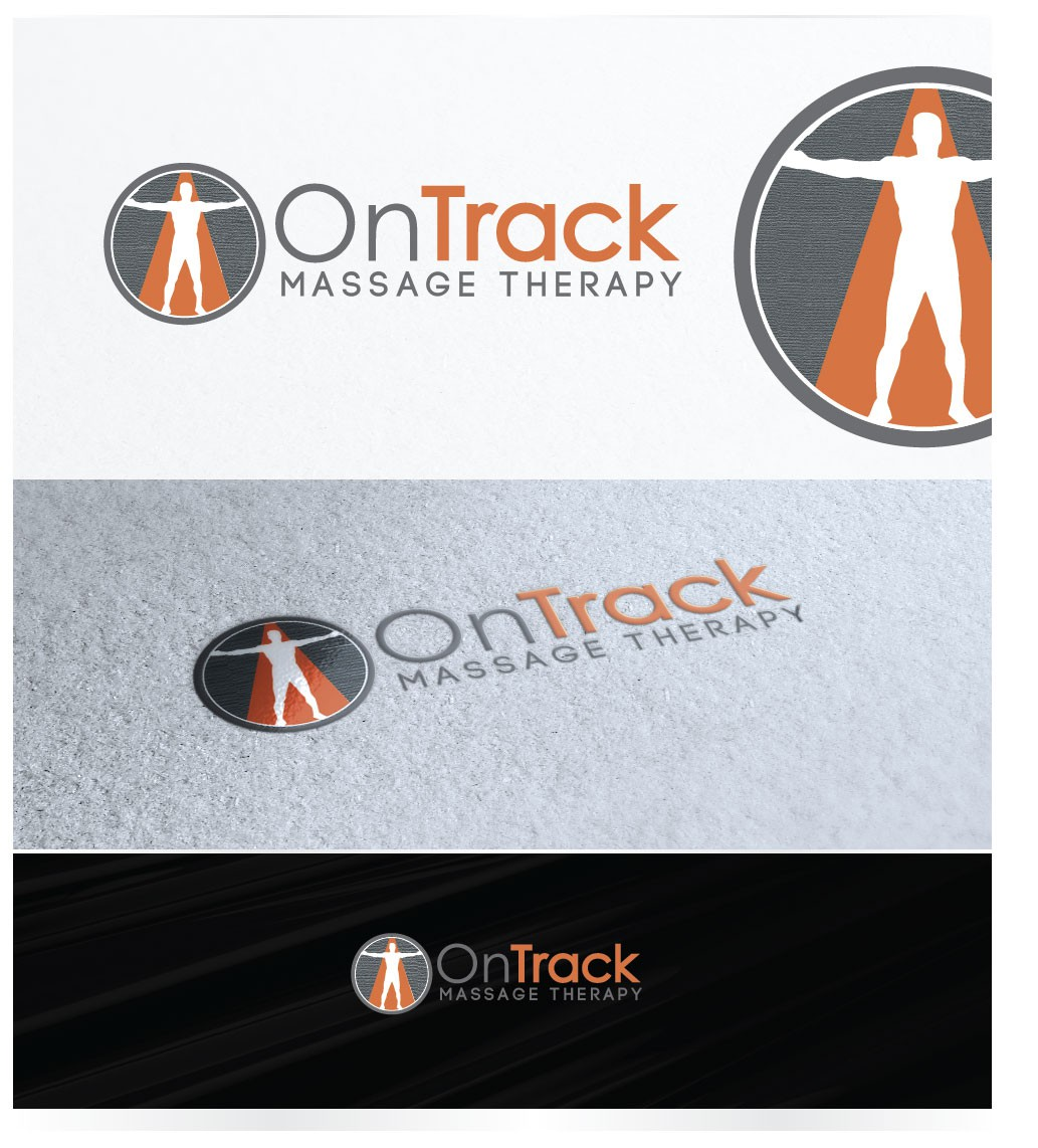 Please help On Track Massage Therapy design a logo!
