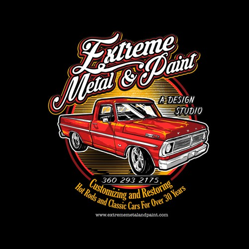 Extreme metal & paint Ford f100