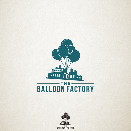 Logo Design for Balloon Factory