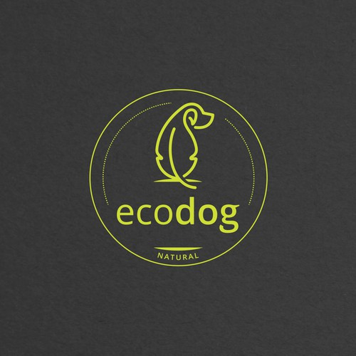 Simple logo for dog's products