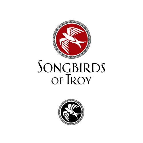 Songbirds of Troy needs a new logo