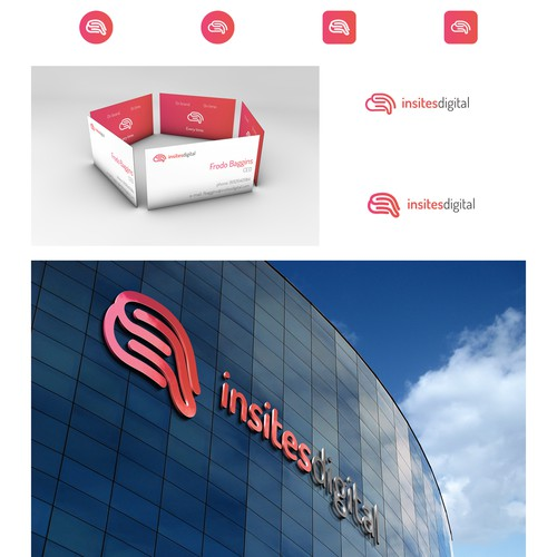 Creative new logo for the digital marketing agency; Insites Digital