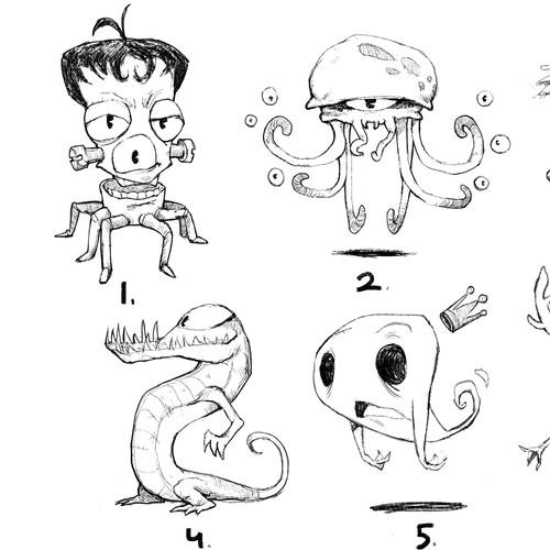 character (monster) design