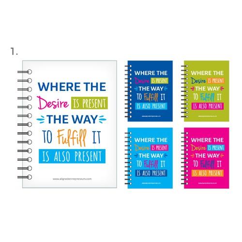 Aligned Entrepreneurs Custom Journals