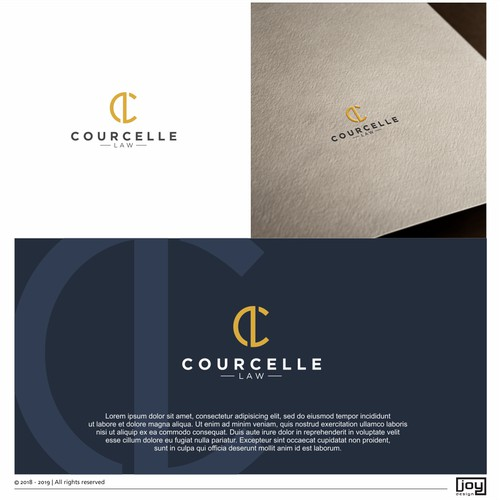 Courcelle Law Logo