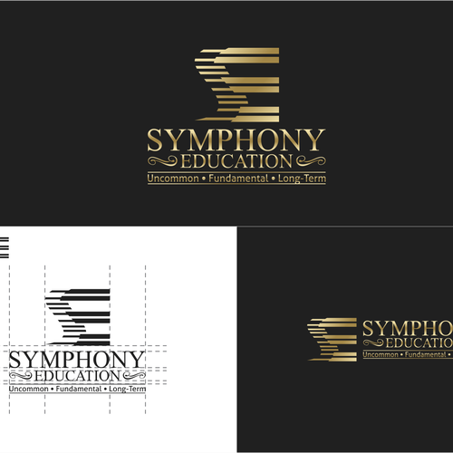 Logo concept for Symphony Education